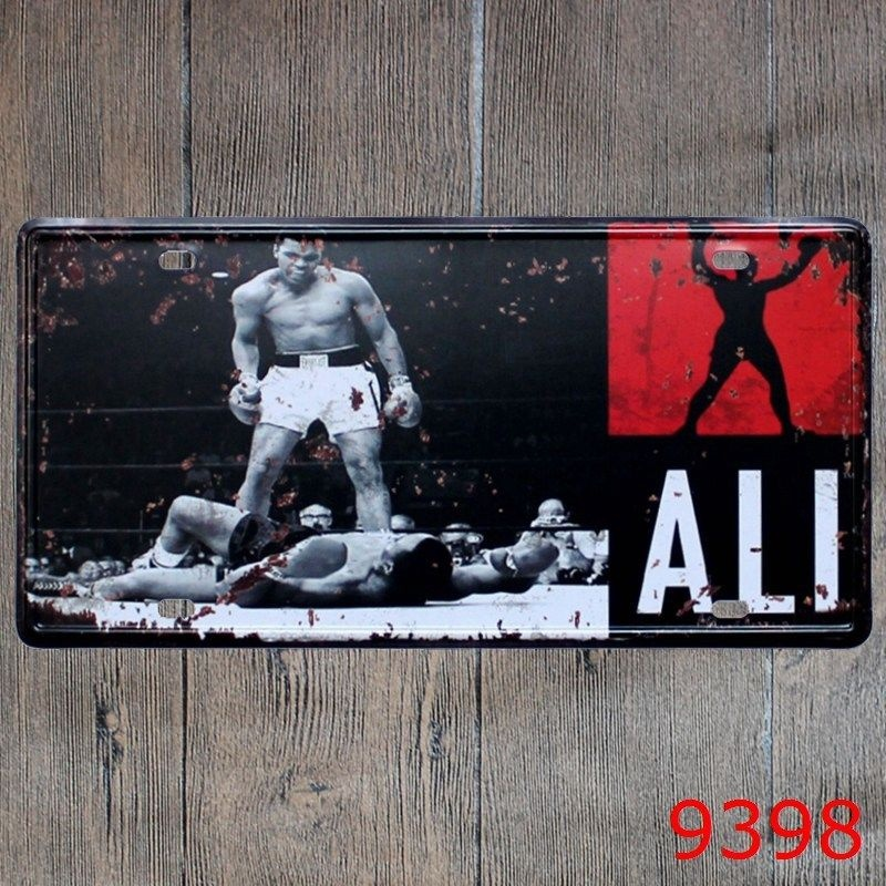 Abner S Garden Center Coupon: Aliexpress.com : Buy 15x30cm Boxing Champion Ali Decor Bar