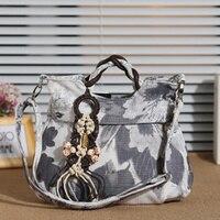 Yamaha new women's bag national wind bag hand woven dual use bag portable Messenger bag travel leisure handbag