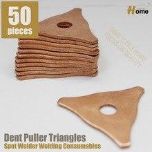 50 piezas Desabollo Pads, Spotter deluxe stud soldador kit de accesorios (PP-50)