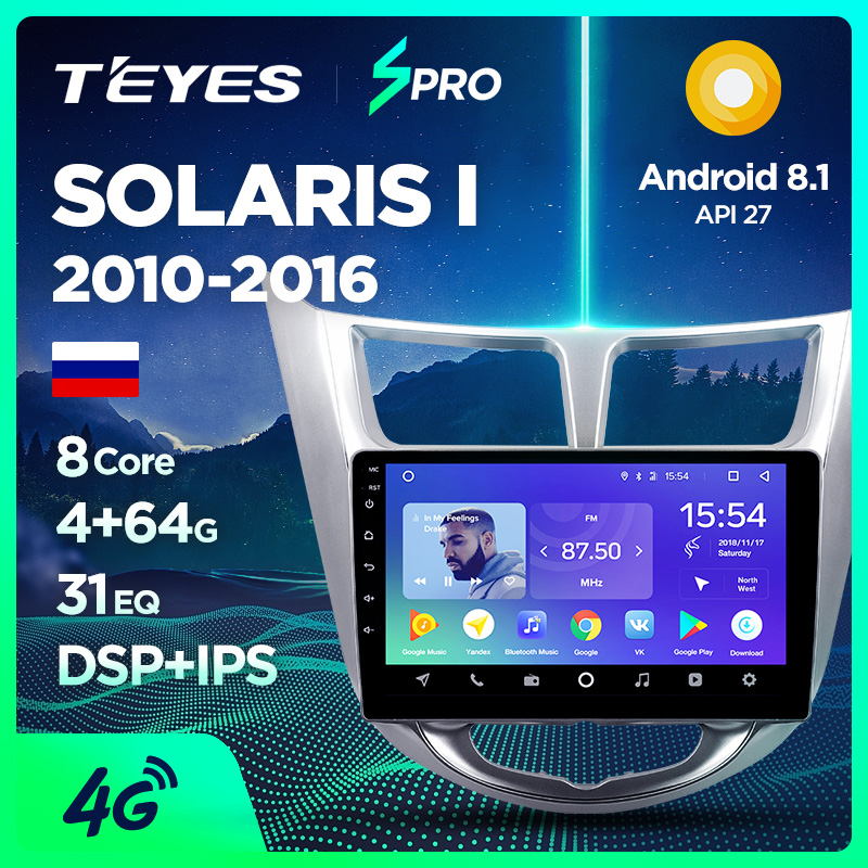 T'Eyes TEYES SPRO Car Radio Multimedia No 2 Din Android 8 1 8.1 Video Player GPS