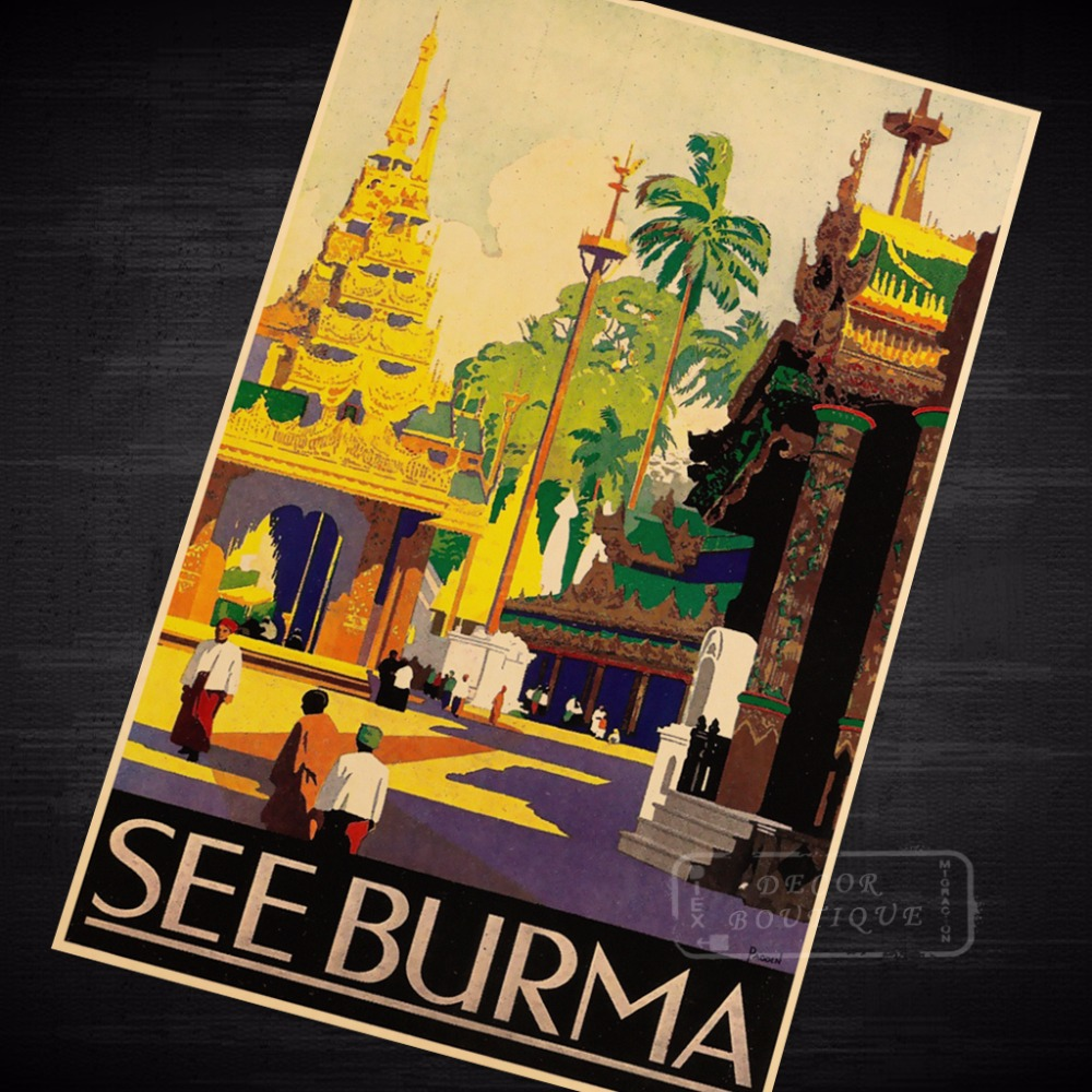 See Burma Indonesia Design Bali Landscape Trip Travel Retro Vintage ...