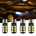 Hot 4 Pcs/Set Bright 2835 SMD 12 LED Car Light 5w T10 Multifunction Lamp Auto Bulb Cob External Winding Back Door Signal Lamp