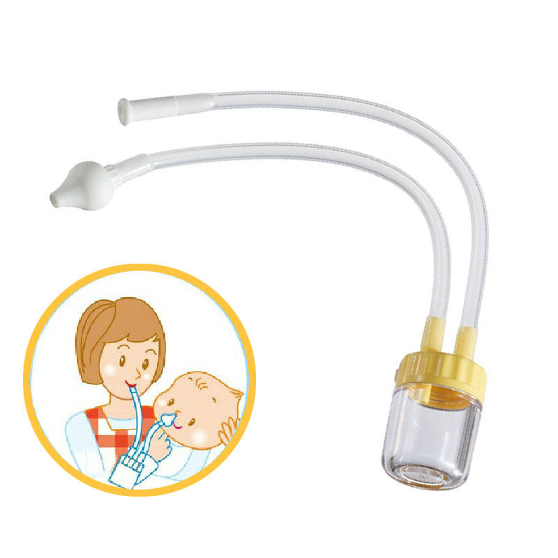 Newborn Baby Safety Nose Cleaner Baby Care Vacuum Suction Nasal Snot Nose Cleaner Mucus Runny Aspirator Inhale Kids Healthy Care