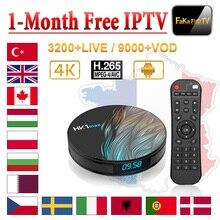 IPTV Italia Germania Spagna HK1 Max 1 mese gratuito di IPTV Portogallo Repubblica Ex Yu IPTV Subsctiption Ungheria Italiano IP TV Polonia Albania