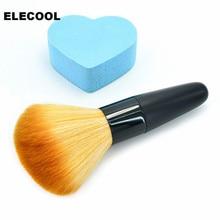 ELECOOL NEW 1pc Beauty Women Powder Brush Single Soft Face Cosmetic Makeup Brush Big Loose Shape Maquiagem Hot Selling