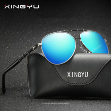 82b9a095b636 XINGYU 2018 New Men Polarized Sunglasses With Original Brand Case HD Glasses  Lens Men Brand Polarized Sunglasses High quality
