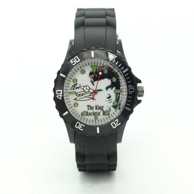 2017 Elvis Presley Watches Women silicone Fashion Quartz Watch birthday present
