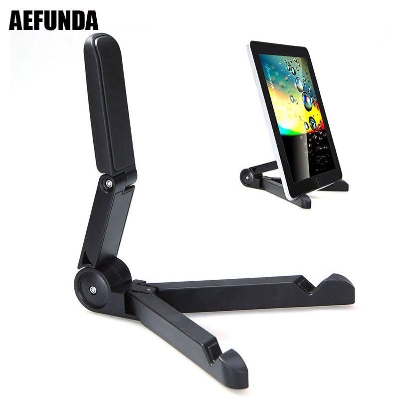 Universal Foldable Phone Tablet Holder Adjustable Desktop Mount Stand Support Tripod For iPhone iPad Mini Samsung Xiaomi Mi Pad