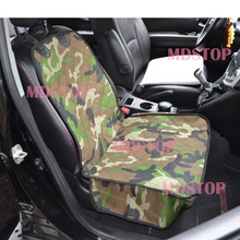 Universal Camouflage Car Front Single Seat Dog Cover