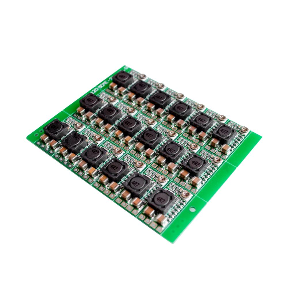 Image 2 - 10PCS/LOT Mini DC DC 12 24V To 5V 3A Step Down Power Supply Module Buck Converter Adjustable Efficiency 97.5%-in Integrated Circuits from Electronic Components & Supplies