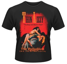 цены на Quirky Shirts Best Friend Men O-Neck Short-Sleeve Thin Lizzy ' The Boys Are Back In Town  Shirts  в интернет-магазинах