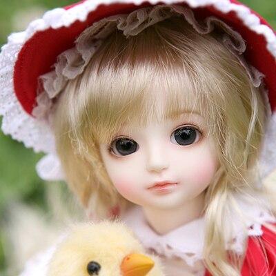 Bjd/sd boneca gaby boneca da junção de 6 pontos bebê espírito (olhos livres + livre make up)