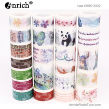 Free Shipping and Coupon washi tape,Washi tape,watercolor,Optional collocation,on sale,#8690-9932