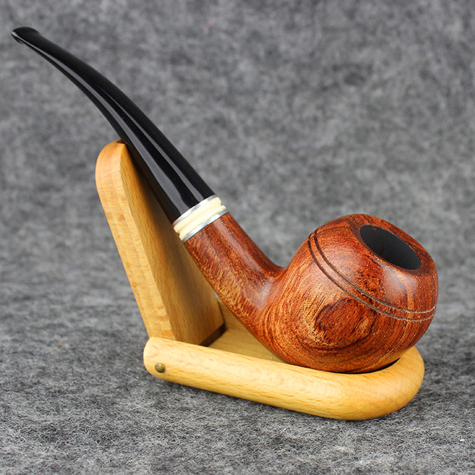 Smoking Rose Wood Tobacco Pipe 9mm Filter Handmade