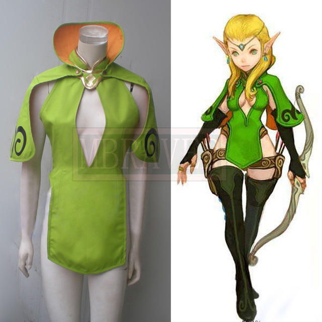 Dragon Nest Archer Cosplay Costume Anime Custom Made Green Uniform  sc 1 st  AliExpress.com & Dragon Nest Archer Cosplay Costume Anime Custom Made Green Uniform ...