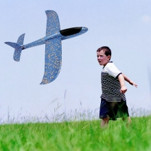 Hand Launch Throwing Glider Aircraft Foam Airplane Toy Children Outdoor Educational Toys for Kids