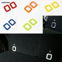 Sansour для джип Ренегат 2015-2016 ABS задний хвост Магистральные Box Рамки крышки отделки Авто Запчасти автомобиля Интимные аксессуары 1 шт.