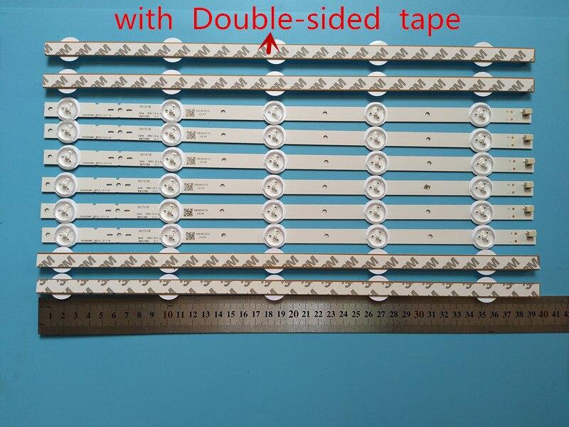 395mm LED Lampe de Rétro Éclairage bande 5 LED s pour Donc ny TV 40 pouces KLV 40R470A SVG400A81 REV3 121114 S400H1LCD 1 on AliExpress - 11.11_Double 11_Singles' Day 1