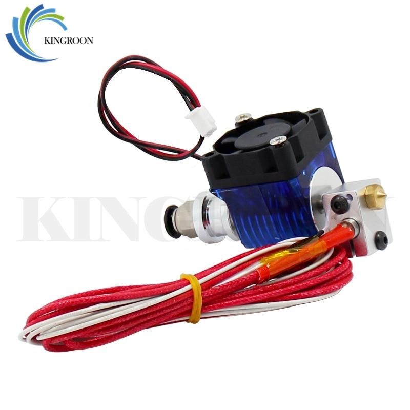 V6 J-başlıq Hotend Extruder Kit 3D Printerlər Soyutma Fan Qavuş - Ofis elektronikası - Fotoqrafiya 5