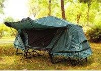Один походная кровать бесплатная построить Mountain кемпинг набор от земли кровать палатка Открытый важно для отдыха Многофункциональный рыба