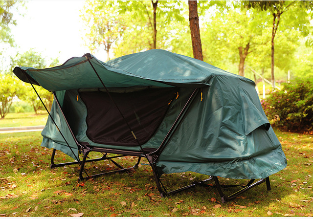 Single Camp Bed Free Build Mountain Camping Set Up Off The