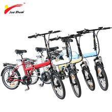 36V 250W Folding Electric Bicycle 20 bike Rear Hub Motor 36V 10ah Lithium Baattery 6 Speed
