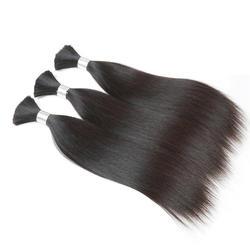Rebecca массового человеческого волоса для плетения 3 шт./лот Реми Малайзии Прямые косы без уток человеческих волос объемной 10 до 30 дюймов