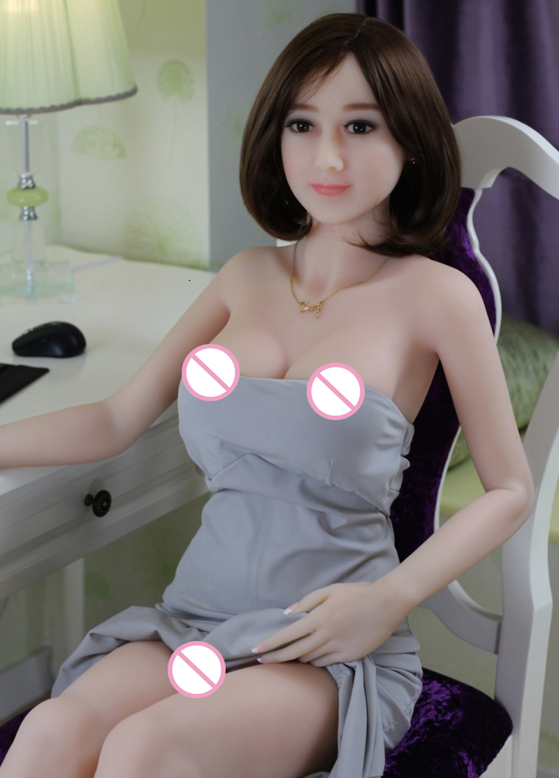 165cm 2016 NEW real silicone sex dolls with metal skeleton, big size love doll,oral sex life size silicone sex doll 165cm new style oral sex doll cheap customized half silicone sex dolls for adults mini toys factory online sale kc