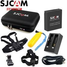 Оригинальный SJCAM Батарея для SJCAM M20 двойной Зарядное устройство для SJ6 Легенда большая сумка для хранения SJ7 Star Перезаряжаемые литий-ионный Батарея пакет