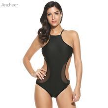 1458d6b951 Swimsuit For Girls Cut Out Padded Women's Swimming Suit Monokini One Piece  Bikini Swimwear Badpak Swimsuit