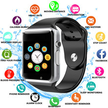 Free Shipping A1 WristWatch Bluetooth Smart Watch Sport Pedometer with SIM Camera Smartwatch For Android Smartphone Russia T15 стоимость