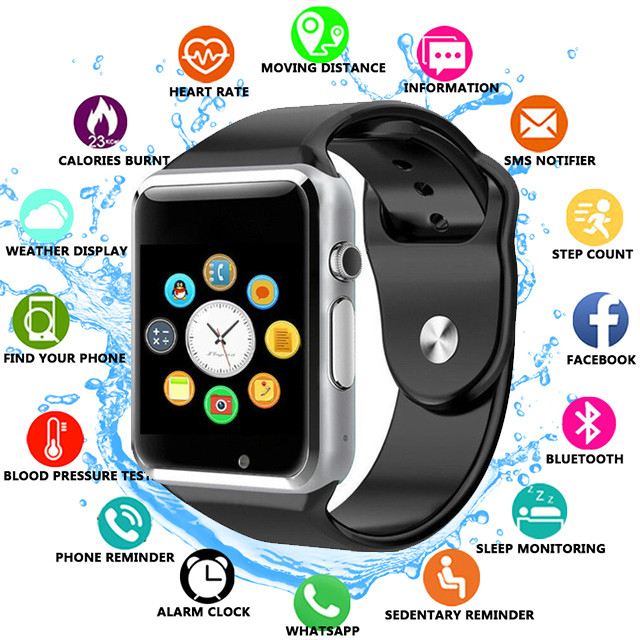 Worldwide delivery instruction a1 smart watch smartwatch in NaBaRa