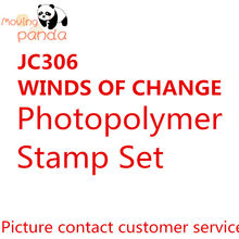 JC306 WINDS OF CHANGE Metal Cutting Dies and stamps Stencils for Scrapbooking/photo Album stamps Decorative Embossing DIY Cards(China)