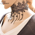 Original Gothic Jewelry Vintage Lace Necklaces&Pendants Women Accessories Choker Multilayer Tassel Collar Statement NecklaceZT33