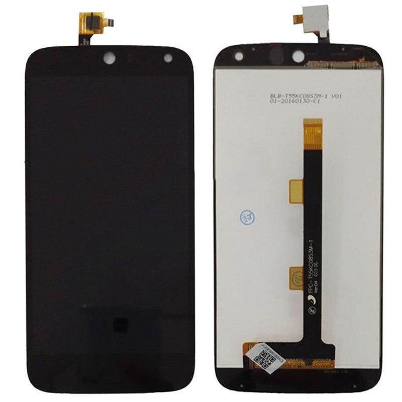 Baru Hitam/Putih LCD + TP untuk Acer Liquid Z630 Z630s LCD Tampilan + Sentuh Layar Digitizer (Bebas + 3 M Tape + Membuka Alat Perbaikan + Lem)