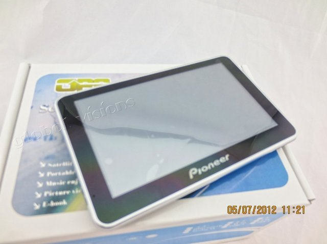 GPS navigator 5 inch touch screen Navigation Build-in 4GB memory