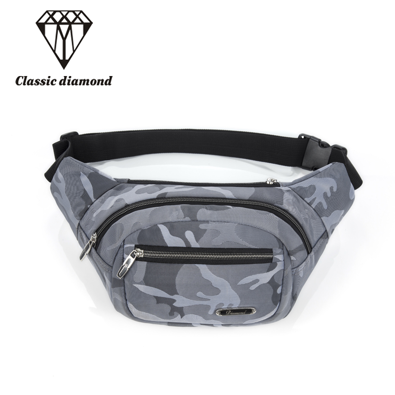 2017 Casual Men Waist Bags Belt Bag Women Waterproof Nylon Waist Pack Travel Funny Chest Pack High Quality Small Phone Pouch Bag