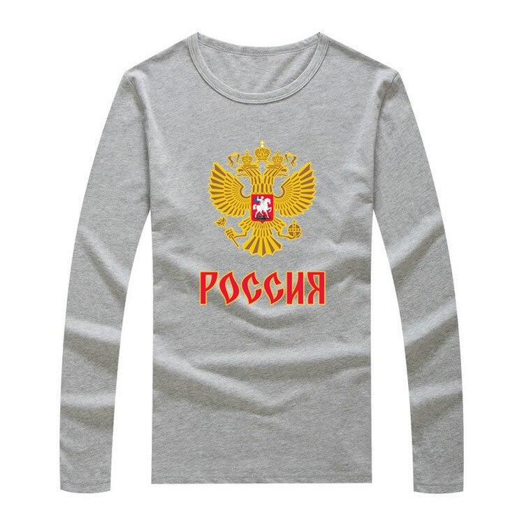 <font><b>2016</b></font> <font><b>Team</b></font> <font><b>russia</b></font> logo <font><b>World</b></font> <font><b>Cup</b></font> <font><b>Men</b></font> LS T-Shirt Long Sleeve <font><b>Hockeyes</b></font> Tee 100% Cotton T-shirt