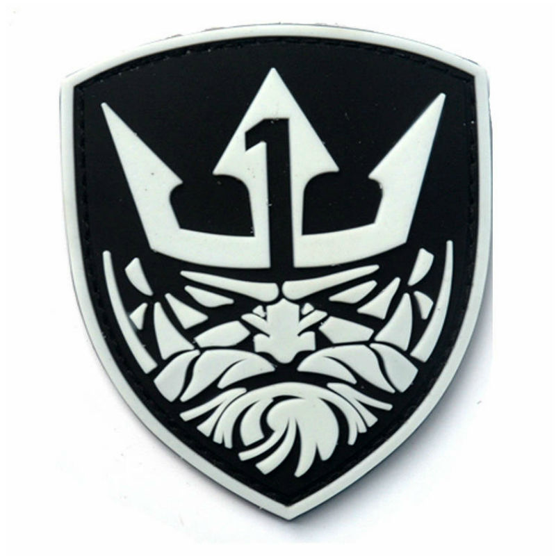 26926c92ccc ... Morale Badge(China). US  0.49 - 0.56. 9 7CM Luminous Medal of Honor MOH  NEPTUNE 3D PVC Patch Army Tactical Swat Patch
