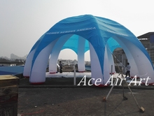 12m Diam  Inflatable Spider Tent  For Advertising with 8 Legs