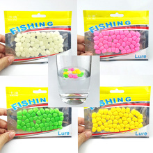 New 50pcs Soft Baits Simulation Corn Kernels Carp Fishing Lure soft can floating with smell Tackles