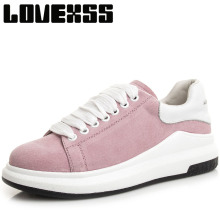 LOVEXSS Womens Winter Sport Shoes Woman Brand Genuine Leather Skateboarding Shoes For Women Outdoor Athletic Women's Sneakers