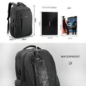Image 5 - حقائب ظهر مضادة للماء من tigerنو مزودة بمنفذ USB للرجال لحمل الكمبيوتر المحمول مقاس 15.6 بوصة حقائب سفر مدرسية للمراهقين