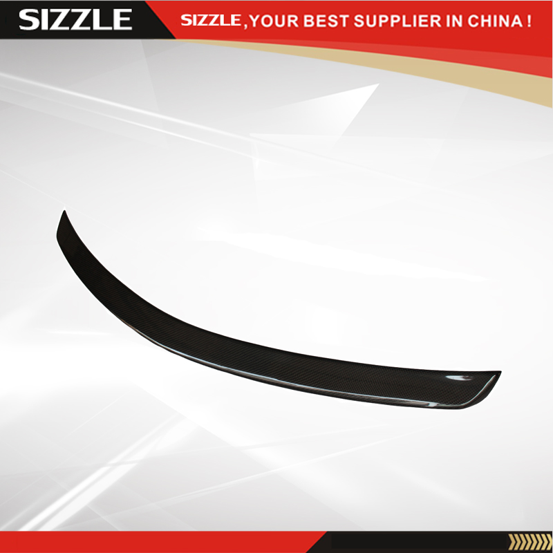 Carbon Fiber Rear Trunk AMG Style Spoiler For Mercedes C Class W204 2008-2014 C180 C200 C220 C230 C250 C280 C300 C320 mercedes carbon fiber trunk amg style spoiler fit for benz e class w207 2 door 2010 2015 coupe convertible vehicles