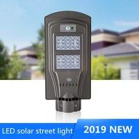 LED Street Light LED Solar Light 20w 40w Waterproof IP65 Motion Sensor Road Lamp Street Lighting for Plaza Garden Yard Street