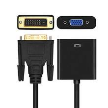 Itinftek Full Hd 1080P DVI D Naar Vga Adapter Converter 24 + 1 25Pin Male Naar 15Pin Vrouwelijke Kabel Voor computer Pc Hdtv Monitor