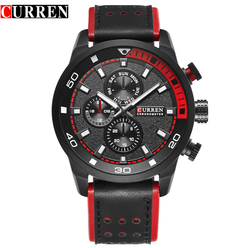 2017 Curren Mens Watches Top Brand Luxury Fashion Casual Sport Quartz Watch Men Military WristWatch Clock Male Relogio Masculino curren golden quartz watches men luxury top brand fashion men s watch genuine leather sport casual wristwatch relogio masculino