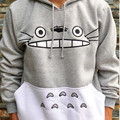 Raisevern Hot 3D Thick Sweatshirt Harajuku Cartoon Totoro Animal Print Women Suit Hoodie Spring Autumn Outside Clothes cotton