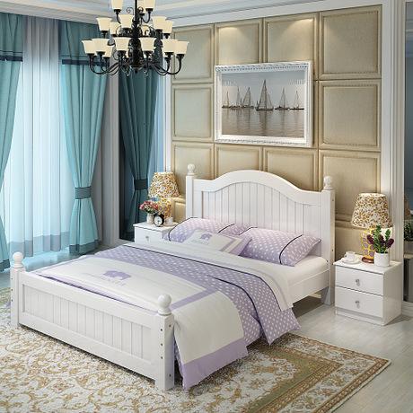 Lit à la maison meubles de chambre à coucher meubles nordiques ...