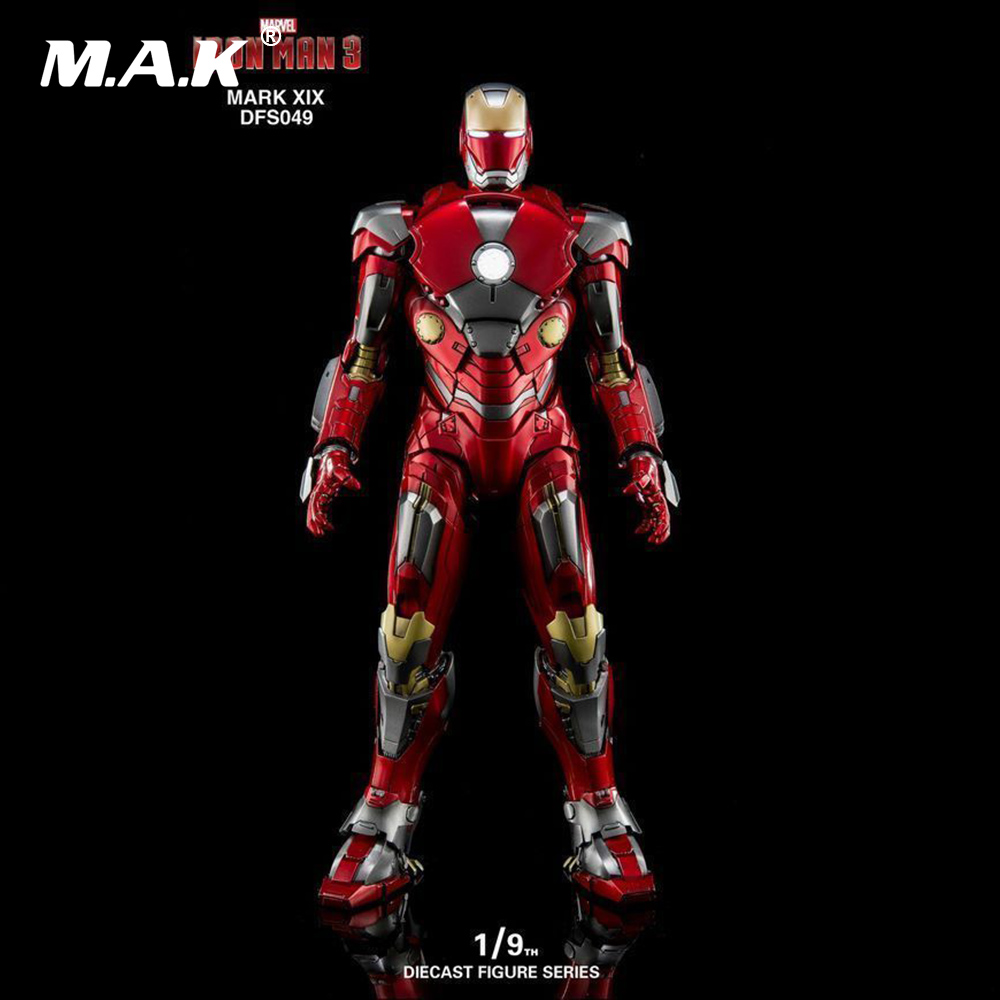 1/9 MARK XIX DFS049 Iron Man 3 MK19 Alloy Diecast Figure Series Action Figure Collection Action Figure for Fans Holiday Gift cd billie holiday the centennial collection
